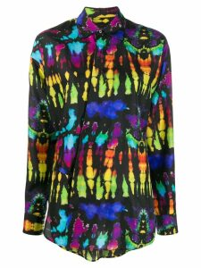 Dsquared2 psychedelic print shirt - Black