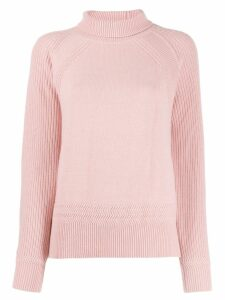 Paule Ka rollneck knit sweater - Pink