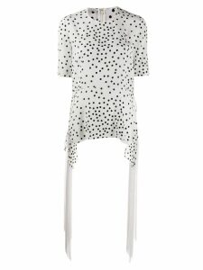 Stella McCartney polka dot Milton blouse - White