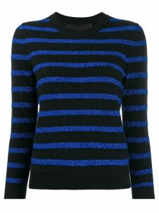 Marc Jacobs glitter stripe jumper - Blue