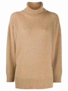 Roberto Collina roll-neck sweater - Neutrals
