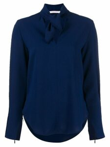 See by Chloé tie-neck blouse - Blue