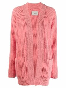 Laneus long sleeve cardigan - PINK