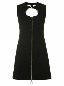 Reinaldo Lourenço cut out details mini dress - Black