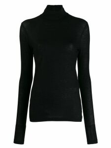Jil Sander turtle neck sweater - Black