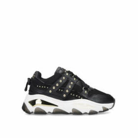 Kurt Geiger London Lettie - Black Studded Chunky Trainers