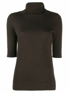 Snobby Sheep roll neck sweatshirt - Brown