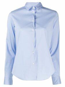 Aspesi fitted longsleeved shirt - Blue
