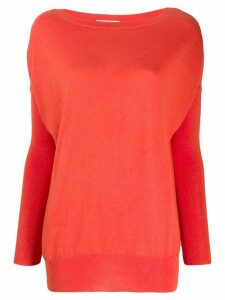 Snobby Sheep dropped shoulders pullover - Orange