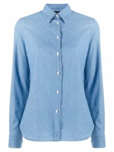 Aspesi long sleeved shirt - Blue