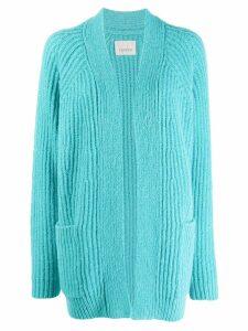 Laneus long sleeve cardigan - Blue