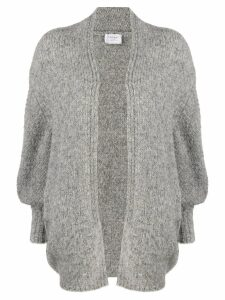 Snobby Sheep open front cardigan - Grey