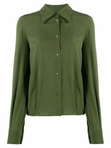 Aspesi long sleeved shirt - Green