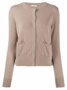 Peserico maglia button-up cardigan - Neutrals