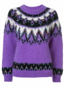 Coohem Nordic jumper - Purple