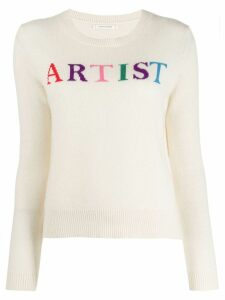 Chinti and Parker long-sleeve knitted jumper - NEUTRALS