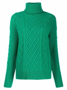Chinti and Parker novelty knit jumper - Green
