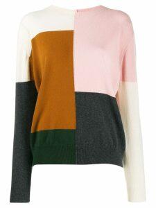 Chinti & Parker colour block jumper - PINK