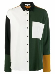 Chinti and Parker colour-block shirt - White