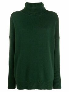 Chinti and Parker roll neck jumper - Green