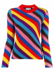 Chinti and Parker cashmere colour-block jumper - Red