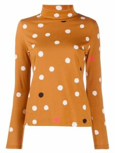 Chinti and Parker polka dot jumper - NEUTRALS