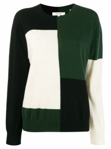Chinti & Parker colour block jumper - Green