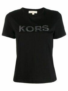 Michael Michael Kors logo print T-shirt - Black