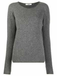 Roberto Collina long-sleeve fitted sweater - Grey