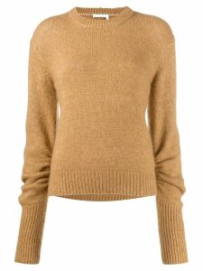 Chloé elongated sleeve jumper - NEUTRALS