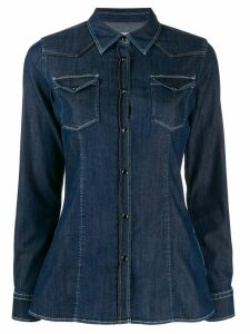 Dondup long-sleeved denim shirt - Blue