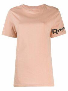 Reebok x Victoria Beckham x Victoria Beckham logo T-shirt - NEUTRALS