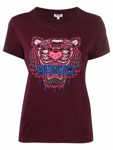 Kenzo Tiger print T-shirt - Red