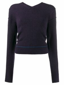 Chloé V-neck sweater - Blue