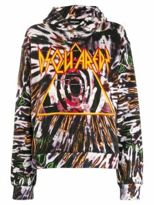 Dsquared2 graphic logo hoodie - Black