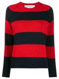Victoria Victoria Beckham block stripe sweater - Blue