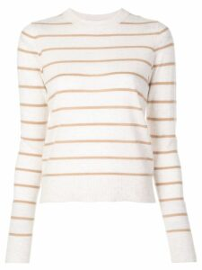 Vince striped cashmere sweater - NEUTRALS