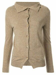 Forme D'expression boxy cardigan - Yellow