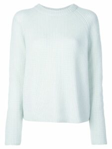 Vince ribbed knit cashmere sweater - Blue