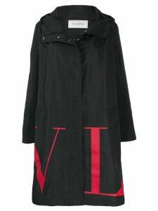 Valentino VLTN logo print parka coat - Black