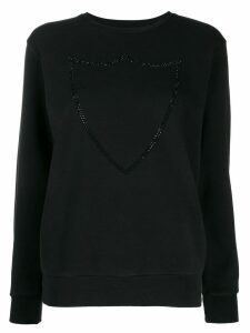 Htc Los Angeles crest embroidered jumper - Black