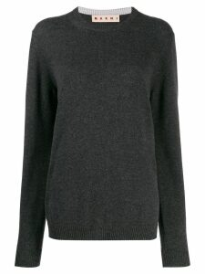 Marni cashmere crew-neck sweater - Grey