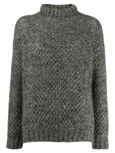 Alberta Ferretti roll-neck sweater - Grey