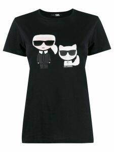 Karl Lagerfeld Karl & Choupette T-shirt - Black
