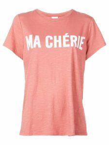 Cinq A Sept Ma Chérie T-shirt - PINK