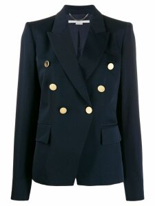 Stella McCartney decorative buttons blazer - Blue