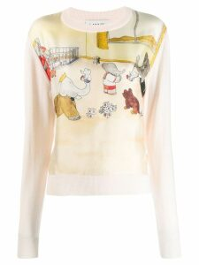 LANVIN Babar the Elephant jumper - PINK