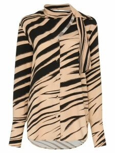 Beaufille Vernon stripe blouse - Brown