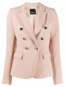 Pinko double-breasted blazer - NEUTRALS