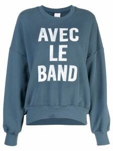 Cinq A Sept With The Band sweatshirt - Green